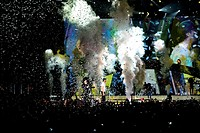Enrique Iglesias and Pitbull perform at American Airlines Arena with special guest Colombian reggaeton singer J Balvin Featuring: Pitbull,Enrique Igle...