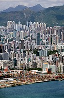 Hong Kong cityscape, China