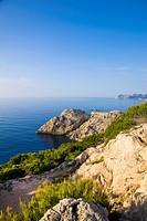 Cliffs on Mediterranean Coast