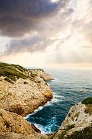 Cliffs on Mediterranean Coast