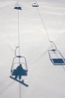 Chairlift at Lech Ski Resort; Austria