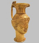 Figured Vessel, 4th century BC. Artist: Scythian Art