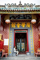 Ong Temple, Can Tho, Mekong Delta, Vietnam.