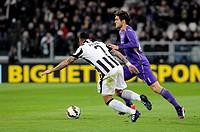2015 Coppa Italia Semi Final Juventus v Fiorentina Mar 5th. 05.03.2015. Turin, Italy. Coppa Italia Semi Final. Juventus versus Fiorentina. Marcos Alon...