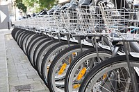 Bikes for Rent in Dublin, Ireland.