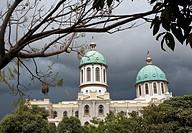 Bole Medhanialem orthodox cathedral. Addis Ababa ( Ethiopia).