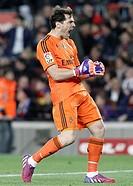 22.03.2015, Camp Nou, Barcelona, ESP, Primera Division, FC Barcelona vs Real Madrid, 28. Runde, im Bild Real Madrid's Iker Casillas celebrates goal du...