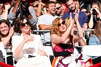 Matthew McConaughey Hollywood Walk of Fame Star Ceremony Featuring: Anne Hathaway,Jessica Chastain Where: Los Angeles, California, United States When:...