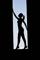 silhouette woman - , 01/01/2014