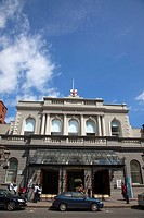 Bedford Street Exterior of the Ulster Hall concert venue.