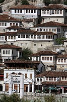 Ottoman houses in the old town.