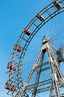 The Wiener Riesenred or Giant Wheel is one of the oldest Ferris wheels in the world erected in 1897 to celebrate the Golden Jubilee of Emperor Franz J...