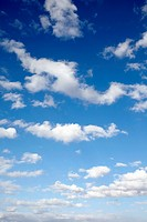 Low angle view of sky and clouds