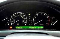 Car Speedo Display