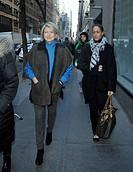 Martha Stewart leaving the NBC studios in Manhattan Featuring: Martha Stewart Where: New York City, New York, United States When: 16 Jan 2015 Credit: ...
