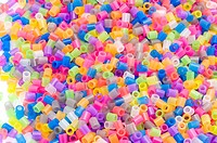 color beads macro