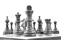 king of chess in the first line