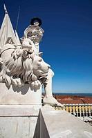 Lisbon, arch of street augusta
