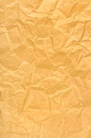 Crumpled wrapping paper