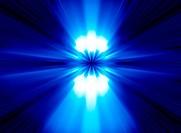 Shiny Blue Lights