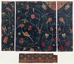 Carpet decorated with animals, Indian, 16th century, (wool and needlepoint), Indian School, (16th century) / Musee des Arts Decoratifs, Paris, France ...