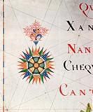 Compass Rose from a Navigational Chart (detail) / National Maritime Museum, London, UK / Bridgeman Images