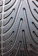 close up of car tires