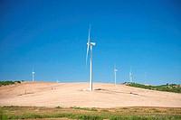 Cadiz wind power mills