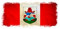 Bermuda grunge flag