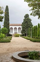 Jardins of Teatre Grec, Montjuic, Barcelona.