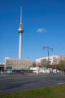Berlin, Germany, Europe, Alexander square, television tower, TV tower,