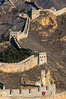 great chinese wall at jinshaling