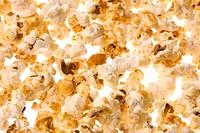 Popcorn Macro Isolated