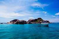 A paradise with perfect crystal clear sea, Similan islands, Andaman, Thailand
