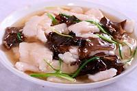 stewed sliced fish wine sauce