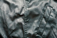 Leather and pocket