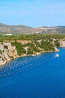 Croatia - mussel farm