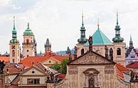 Ancient Prague architecture, Czech Republic
