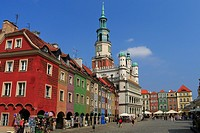 Old Town of Poznan, Poland.