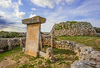 Balearic Islands, Landscape, Menorca, Island, Spain, Europe, Spring, Trepuco, architecture, ceremony, culture, history, no people, prehistory, remains...