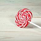 Large spiral lollipop on stick