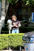 Emma Roberts shops at Isabel Marant in Beverly Hills, CA. Featuring: Emma Roberts Where: Beverly Hills, California, United States When: 09 Feb 2015 Cr...