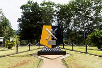 MacArthur Monument, Gunung Ifar, Papua, Indonesia