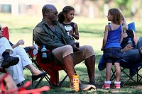 Seal watches his children play in a soccer game Featuring: Seal Samuel, Lou Samuel Where: Los Angeles, California, United States When: 14 Feb 2015 Cre...