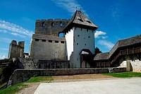 Tower of Celje medieval castle in Slovenia