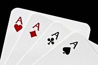Four Aces closeup