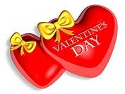 valentine chocolate 3d art
