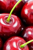 Sweet red cherries