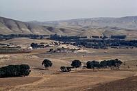 Agricultural landscape, Iranian Azerbaijan, Iran.