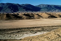 Arid landscape near Ras-Raysut, Oman.